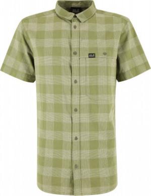 Рубашка с коротким рукавом мужская Jack Wolfskin Highlands, размер 54-56