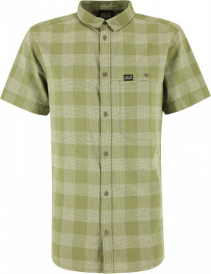 Рубашка с коротким рукавом мужская Jack Wolfskin Highlands, размер 50-52