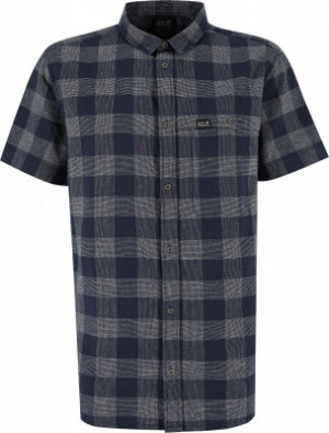 Рубашка с коротким рукавом мужская Jack Wolfskin Highlands, размер 46-48